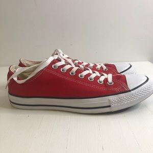 Converse Chuck Taylor All Star Ox Red Sneakers